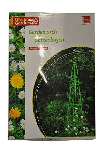 Lifetime Garten Obelisk Rankhilfe ca 200m spitz Klettersäule Rankgitter Rosensäule