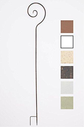 CLP Pflanzen-Rankstab Silla aus Eisen I Rankhilfe mit Einer Höhe von 148 cm I Rankstange für Kletterpflanzen I In vielen erhältlich Bronze