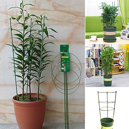 GurkenturmPflanzen-Aufzucht-Turm Maxitom mit Rankhilfe für TomatenRankhilfe Rankhilfe Obelisk BRONZE Höhe 45cm Ø 141618cm Massiv Pulverbeschichtetes Stahl