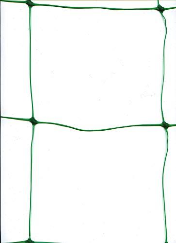 WARKHOME Ranknetz Rankhilfe Pflanzennetz Gartennetz Stütznetz Erbsennetz Bohnennetz 17 x 4m