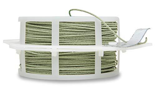 Windhager Rankdraht Pflanzendraht Blumendraht Kletterhilfe Rankhilfe Wickeldraht guter Halt für Pflanzen plastifiziert grün 50 m 06213