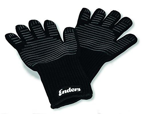 Enders Grill Handschuhe aus feuerfestem Aramid 8785  hitzebeständig Handschuhe für Gas-Grill BBQ Backofen Kamin sicher und bequem