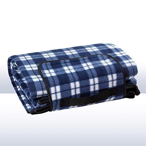 DEMA Picknickdecke blau 190x130 cm