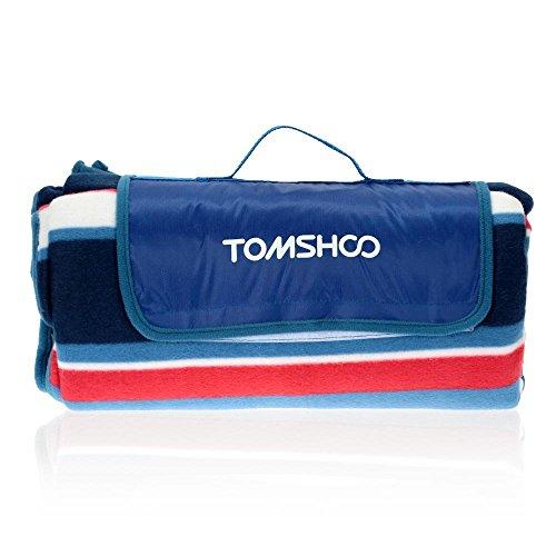 TOMSHOO 150200cm Camping Picknickdecke Wasserdicht