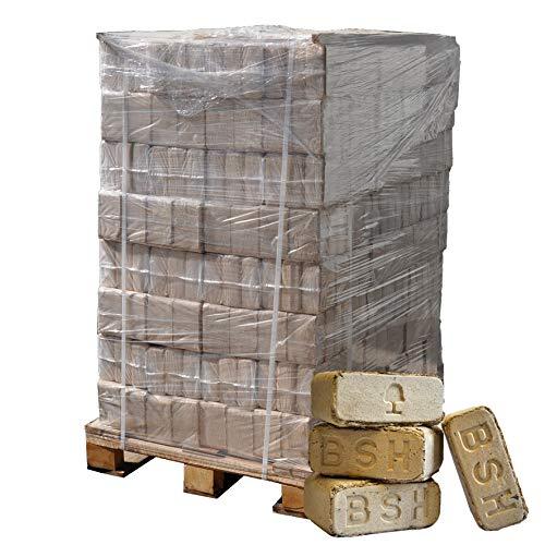 ▶ Holzbriketts Hartholz-Mix 036€kg 960kg auf Palette kostenfreie Lieferung handlich verpackt in 96 Pakete à 10kg ohne Bindemittel hergestellt Holz-Briketts Hartholzbriketts