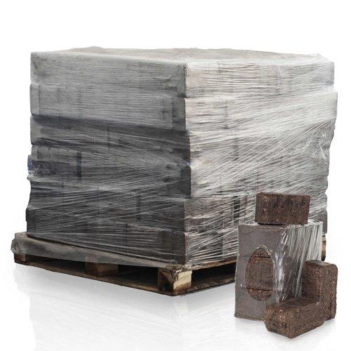 PALIGO Rindenbriketts Ruf Kiefernrinde Gluthalter Dauerbrenner Kamin Ofen Brenn Holz Heiz Brikett 12kg x 84 Gebinde 1008kg  1 Palette Heizfuxx