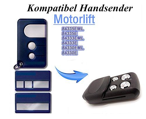 Kompatibel mit Chamberlain Liftmaster 94335E  94330E  94333E  94334E  ML 750 Garagentor Fernbedienung Sender Ersatz 4 Kanal Handsender 433 Mhz Key Fob