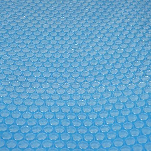 Mendler Pool-Abdeckung Wärmeplane Solarplane Solarabdeckung blau Stärke 200 µm rund 366 m