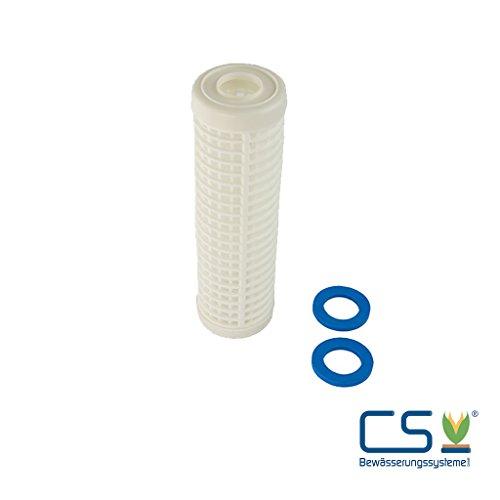 CS Bewässerungssysteme GmbH Wasserfilter - EinsatzKartusche 60 Micron Nylon für 10 Zoll