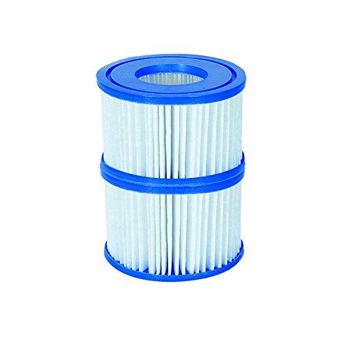 Bestway 58239 Filterkartusche für Lay-Z-Spa Whirlpool Große VI Durchmesser 106 x H40 cm 2er Set