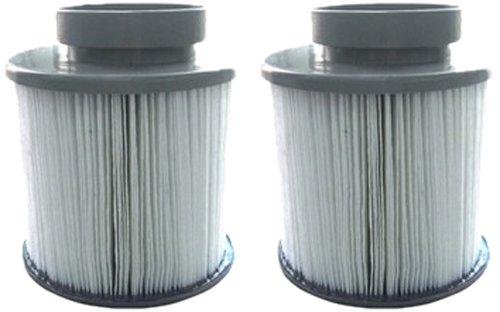 Miweba MSpa Filterkartusche 2 x Whirlpool Wasserfilter für aufblasbaren