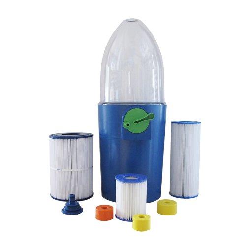 Poolwell Filterkartuschen-Reiniger für Schwimmbad und Whirlpool