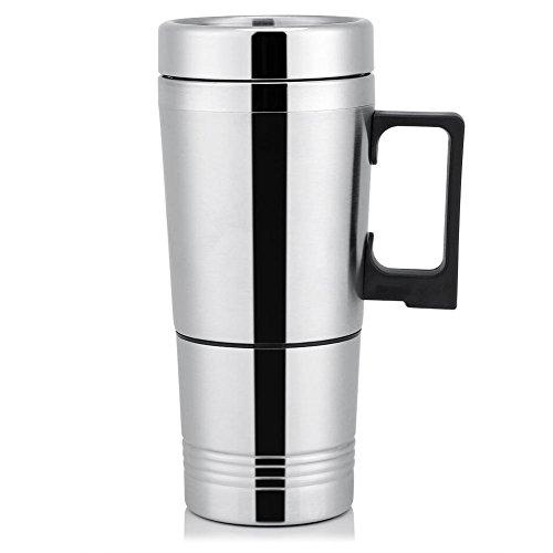 Eboxer 12 V24 V 300 ml Auto Elektronische Kaffee Tee Wasser Becher Fahrzeug Heizung Trinkbecher Flasche für Außer LebenAutoTeeKaffee Machen usw24V