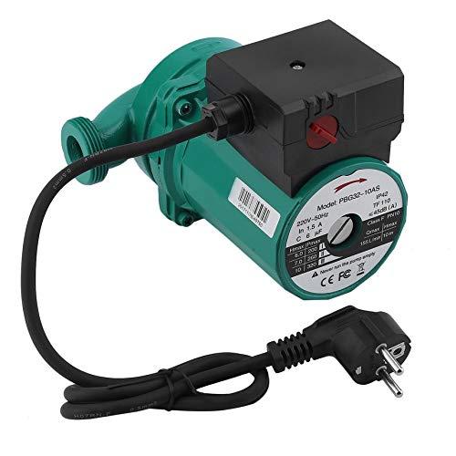 Pennyjie 12 Zoll 320 watt 10 Meter anheben Edelstahl Klinge Wasser heizung umwälzpumpe Ultra-leise druckerhöhungspumpe eu-stecker