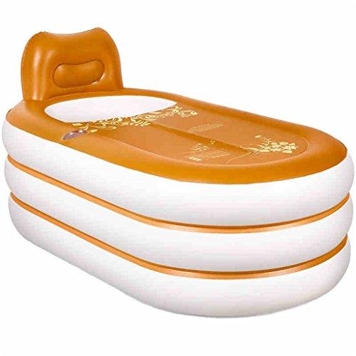 Kinderbecken Aufblasbare Badewanne verdicken Erwachsene Badewanne Faltbare Kind baden Badewanne Kunststoff Badewanne Geschenk Four Seasons kontinental Hauspool