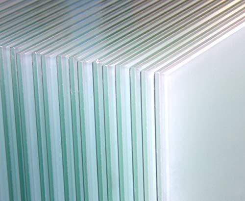 10 Stück VSG-Sicherheitsgläser Milchglas 1000mm x 800mm x 876mm Verbundglas Verbundsicherheitsglas Balkon Balkongeländer Geländer Edelstahlgeländer Glasscheiben Sicherheitsglas 8mm