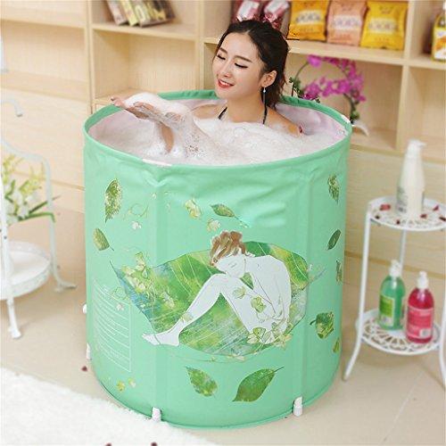 Home Aufblasbare Schwimmbäder Badewanne Erwachsene Kind Badewanne Faltbare baden Badewanne Kunststoff Badewanne Geschenk grün Mode-Ideen 70  70cm WXP-Schwimmbecken