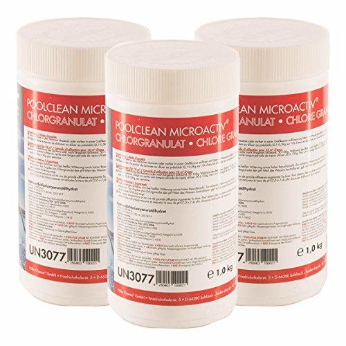 Höfer Chemie 12 kg BAYZID Chlor Granulat wirkt schnell und zuverlässig für Pool und Schwimmbad - versandkostenfrei bestellen