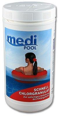 Medipool Schwimmbadpflege Schnell-Chlor-Granulat 1 kg
