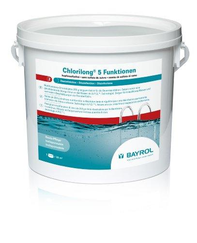 BAYROL 1199244 Chlorilong 5 FunktionenWasserpflege
