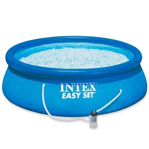 Intex Aufstellpool Easy Set Pools Blau Ø 305 x 76 cm