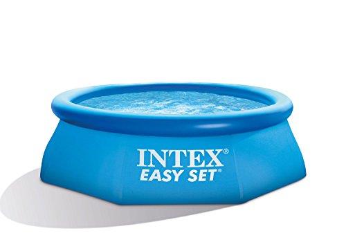 Intex 28112GN Easy-Pool Set Kartuschenfilter 1250 lh TÜVGS 244 x 76 cm