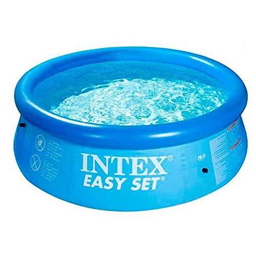 Intex Easy Set Aufstellpool blau Ø 244 x 76 cm
