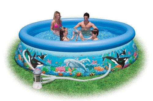 Intex Easy Set Quick Up Fast Set Pool Aquarium 305 x 76 cm