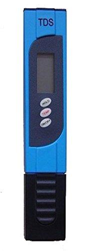 Realgoal TDS-3 blau tds messgerät Wasser TDS Tester Portable Pen ATC 0-9990 ppm Bereich 1 ppm - 2  Genauigkeit Testing Hydroponics Gardening Aquarien Riffe Pools Spas Behandlung trinken Pure Wasserfilter-System