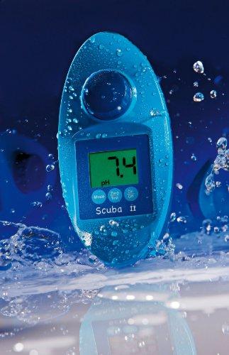 SCUBA II - Elektronischer Pooltester für Chlor und pH-Wert Messung - Poolwasser - Messgerät für den anspruchsvollen privaten Schwimmbad- und Whirl Pool Betreiber