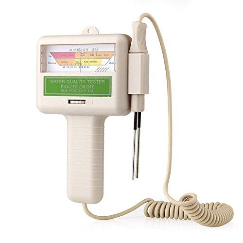 Wasserqualität PHCL2 Chlor Tester PH Messgerät Tester für Schwimmbad Spa