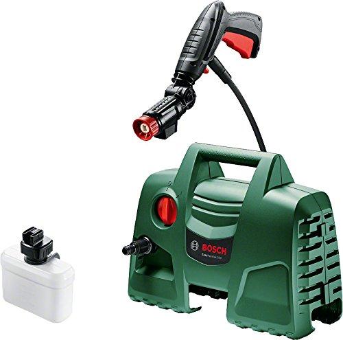 Bosch Hochdruckreiniger EasyAquatak 100 360° Düse inkl Reinigungsmitteltank 5 m Kabel 3 m Schlauch Karton 1200 Watt Druck 100 bar max Fördermenge 300 lh