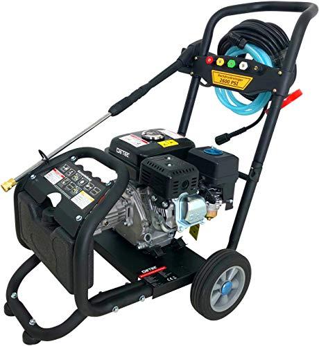 Benzin Hochdruckreiniger Dampfstrahler max 220 bar - 3000 PSI  7 PS Motor mit 210 ccm  5 Düsen inklusive