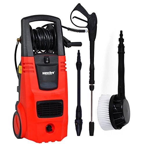 HECHT Elektro-Hochdruckreiniger 326 Hochdruck-Spritzgerät 2600 Watt mit Zubehör