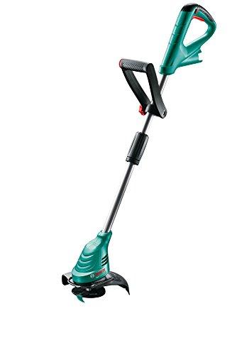 Bosch 12V Akku Rasentrimmer EasyGrassCut 12-230 ohne Akku Messer Pflanzenschutzbügel Karton Schnittkreisdurchmesser 23 cm 12 Volt System 20 Ah