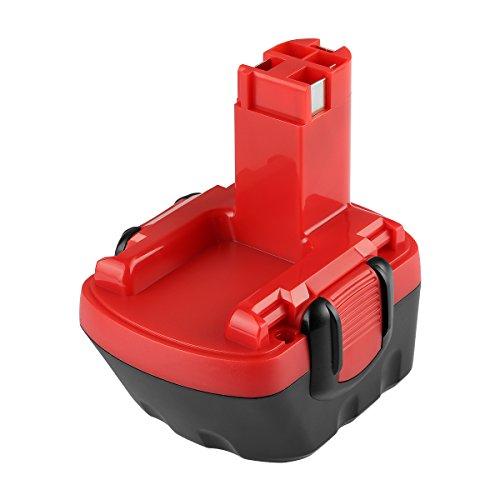 POWER-XWT Akku 12V 30Ah Ni-MH Ersatzakku für Bosch Akku 2607335692 2607335262 2607335542 GSB 12VE-2 GSR 12 VE-2 PAG 12v PSB 12VE-2 PSR 12VE-2 12V Bosch Ersatz Werkzeuge
