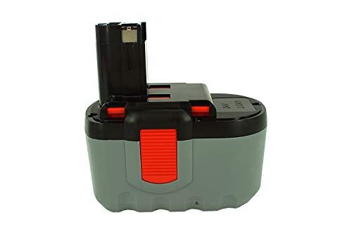 PowerSmart 2000mAh 24V Akku für Bosch GSA 24 V GSA 24 VE GSA 24 VEF GSB 24 VE-2 GSB 24 VE-2N GSR 24 VE-2 GSR 24 VE-2N GST 24 V GST 24 VH PSB 24VE-2 SAW 24V