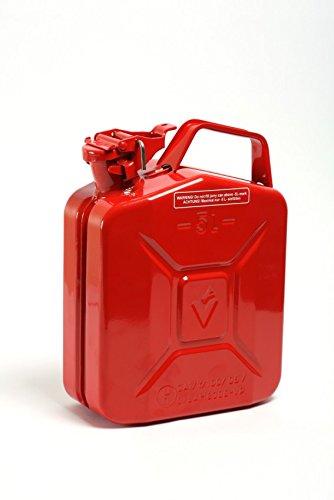 STAHLBLECH-BENZINKANISTER 5 Liter Rot