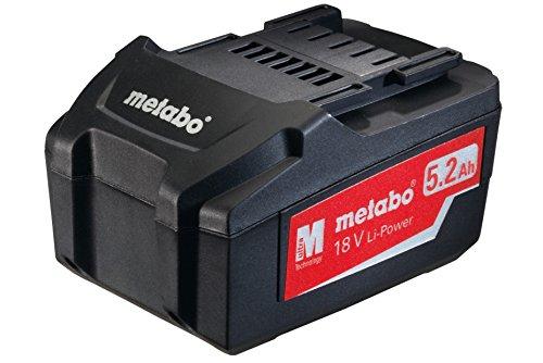 Metabo 625592000 Akku-Pack 18 V 52 Ah Li-Power