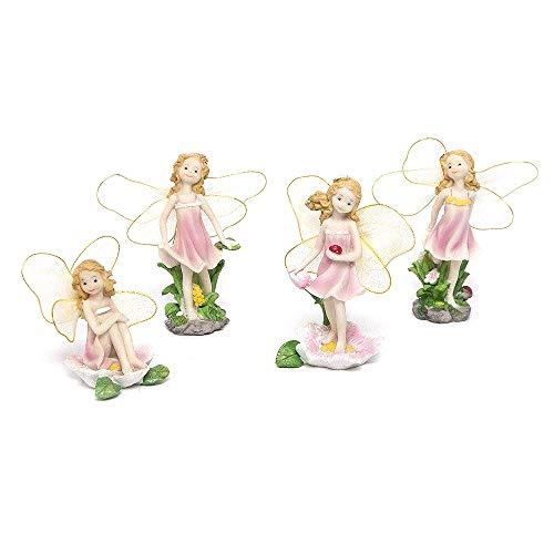 SecretRain Blume-Feen Elfen Haus&Garten Dekor oder als Geschenk