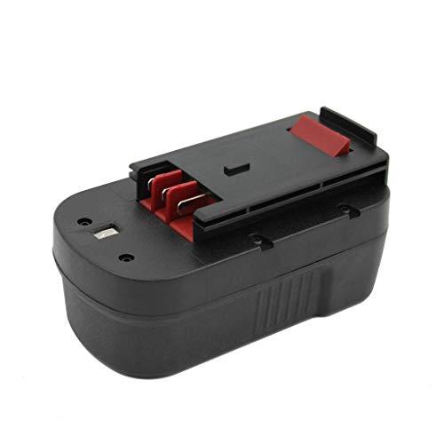 Kinon Ersatz-Elektrowerkzeug Batterie 18V 20Ah für Black Decker Akku Bohrschrauber A18 244760-00 A1718 BD18PSK HPB18 HPB18-OPE Firestorm FS180BX FS18BX FS18FL FSB18 FS1800CS