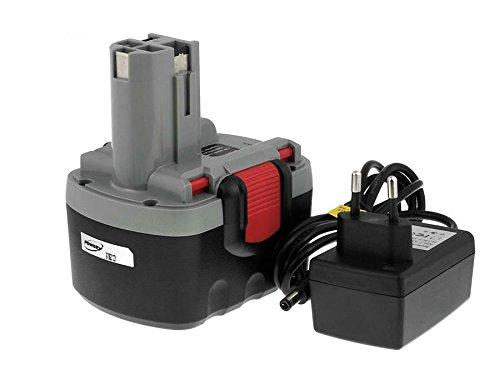 akku-net Akku für Bosch Bohrschrauber PSR VE-2 O-Pack Li-Ion inkl Ladegerät 144V Li-Ion