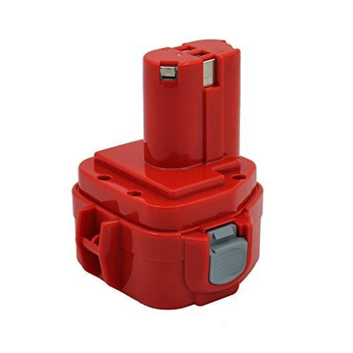 Kinon Ersatz-Elektrowerkzeug Batterie 12V 20Ah für Makita Akku-Bohrschrauber 1220 1222 192598-2 192681-5 193981-6 638347-8 638347-8-2 PA12 6271DWE 6319D