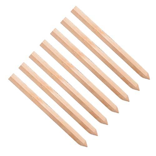 20 Pack 30 cm 300 mm behandelt Baustellen Wäscheklammern Holz Heringe Pfosten Pegs