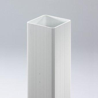 Videx-Coventry-Pfosten Kunststoff H 130 cm weiß