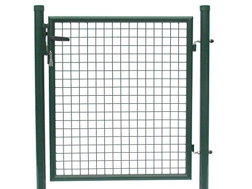 Tür zum Maschendrahtzaun - Höhe 80 cmBreite 125 cm