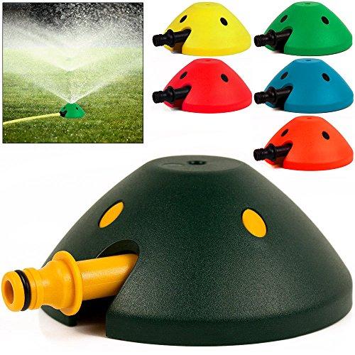 Schwab 3X Sprinkler Rasensprenger Regner Rasen Kreisregner Wasserspiel Gartenregner Bewässerung 80m² Beregnungsfläche