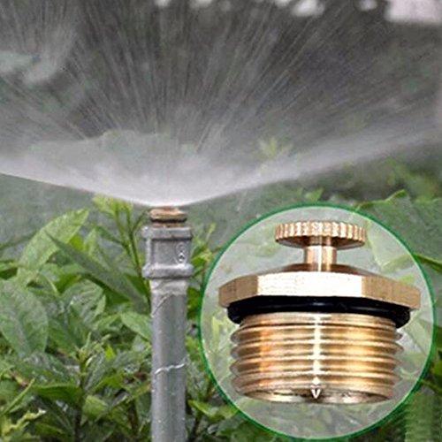 Lunji Garten Sprinkler- Automatische Rasen Wasser Sprinkler Verstellbare Rasen Bewässerungssystem Sprühdüse Missing 2 Stk
