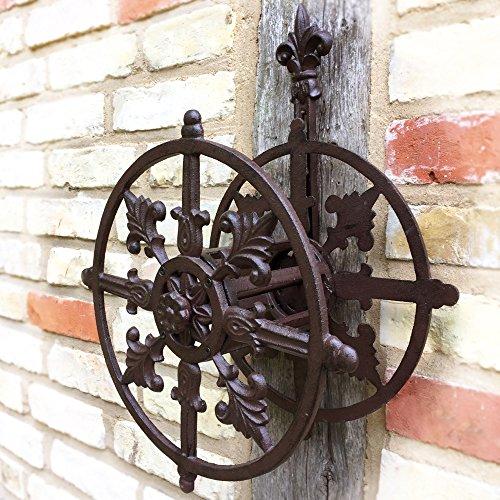 Antikas - Gartenschlauch Aufhänger Schlauch Halterung - Aufwicklung Schlauchhalter