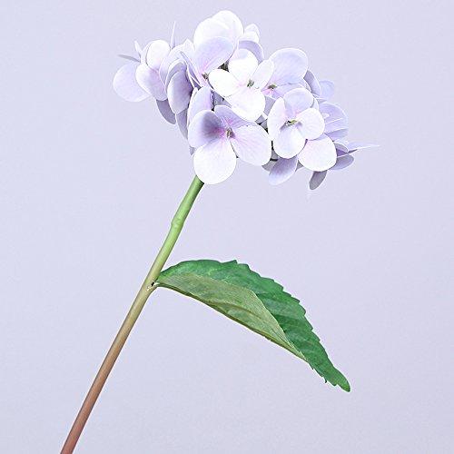 youthny Hortensie Künstliche Blumen Fake Sträuße für Hochzeit Home Tisch Dekoration